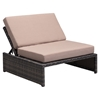 Delray Reclining Single Seat Brown - ZM-703630