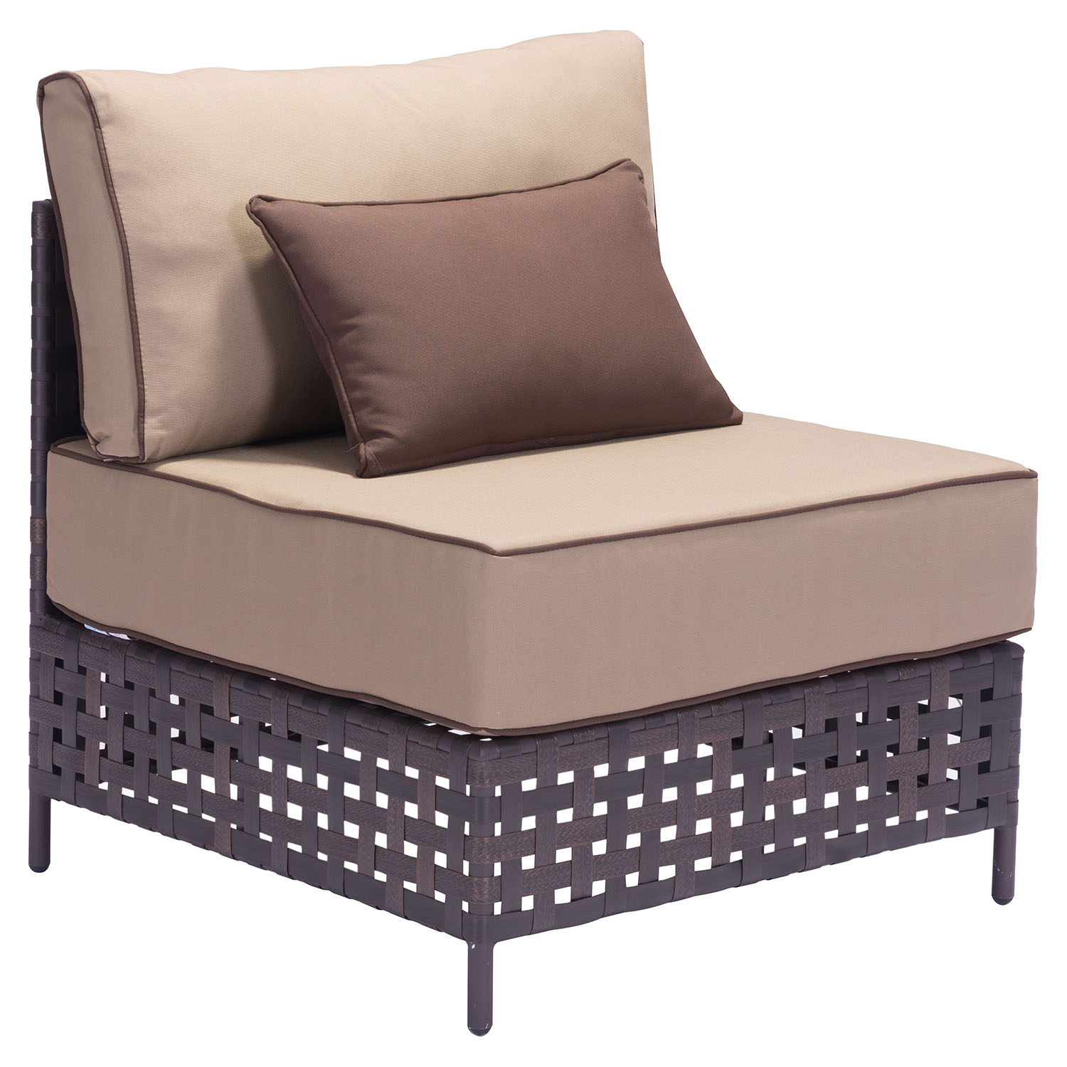 Pinery Sectionals - Brown and Beige - ZM-703-PINERY
