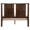Portland Bed - Walnut - ZM-8003-PORTLAND-BED