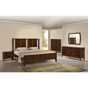 Portland Bedroom Set - Walnut