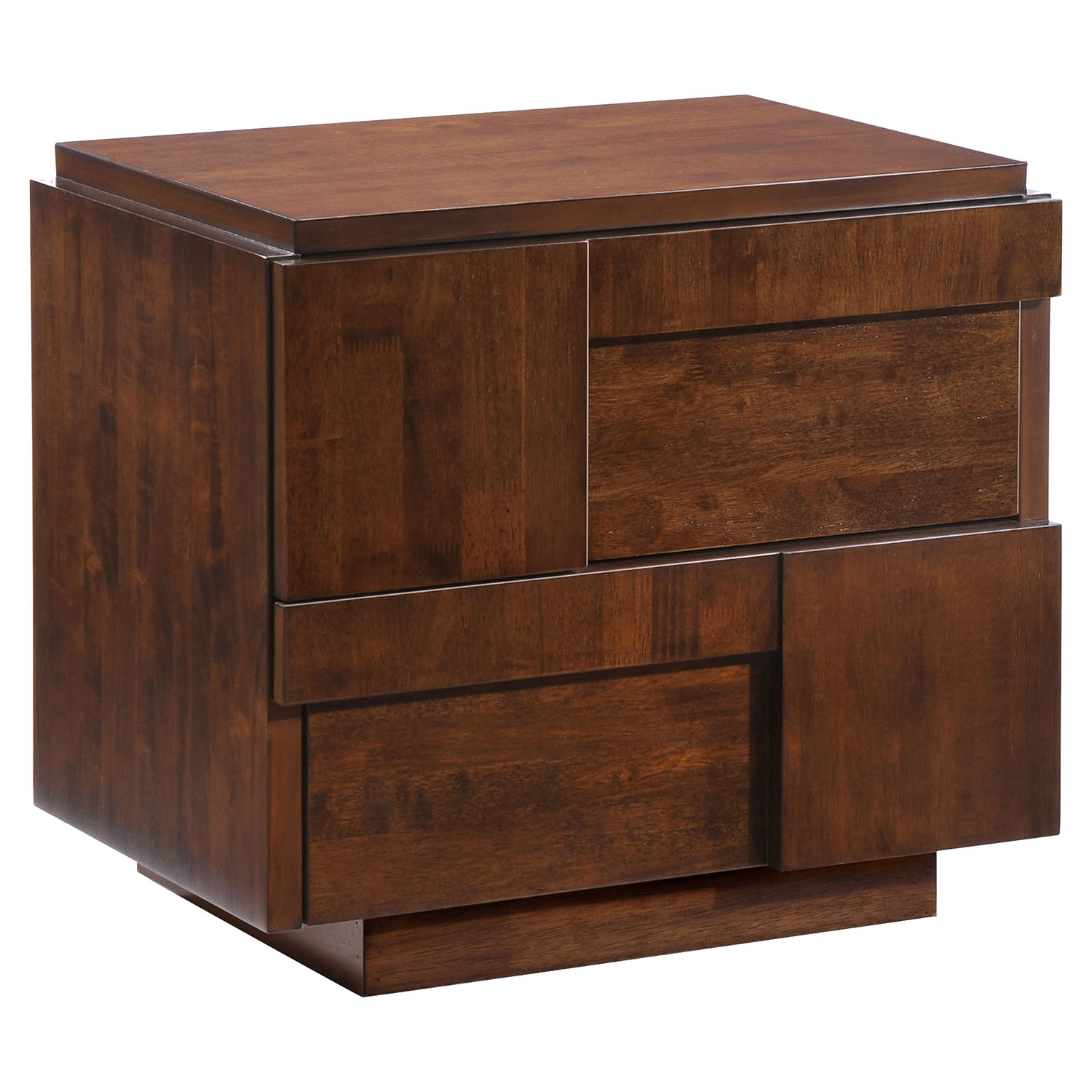 San Diego Nightstand - Walnut - ZM-800330
