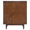 LA High Chest - Walnut and White - ZM-800335