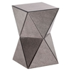 Prism Mirror Side Table - Antique - ZM-850100