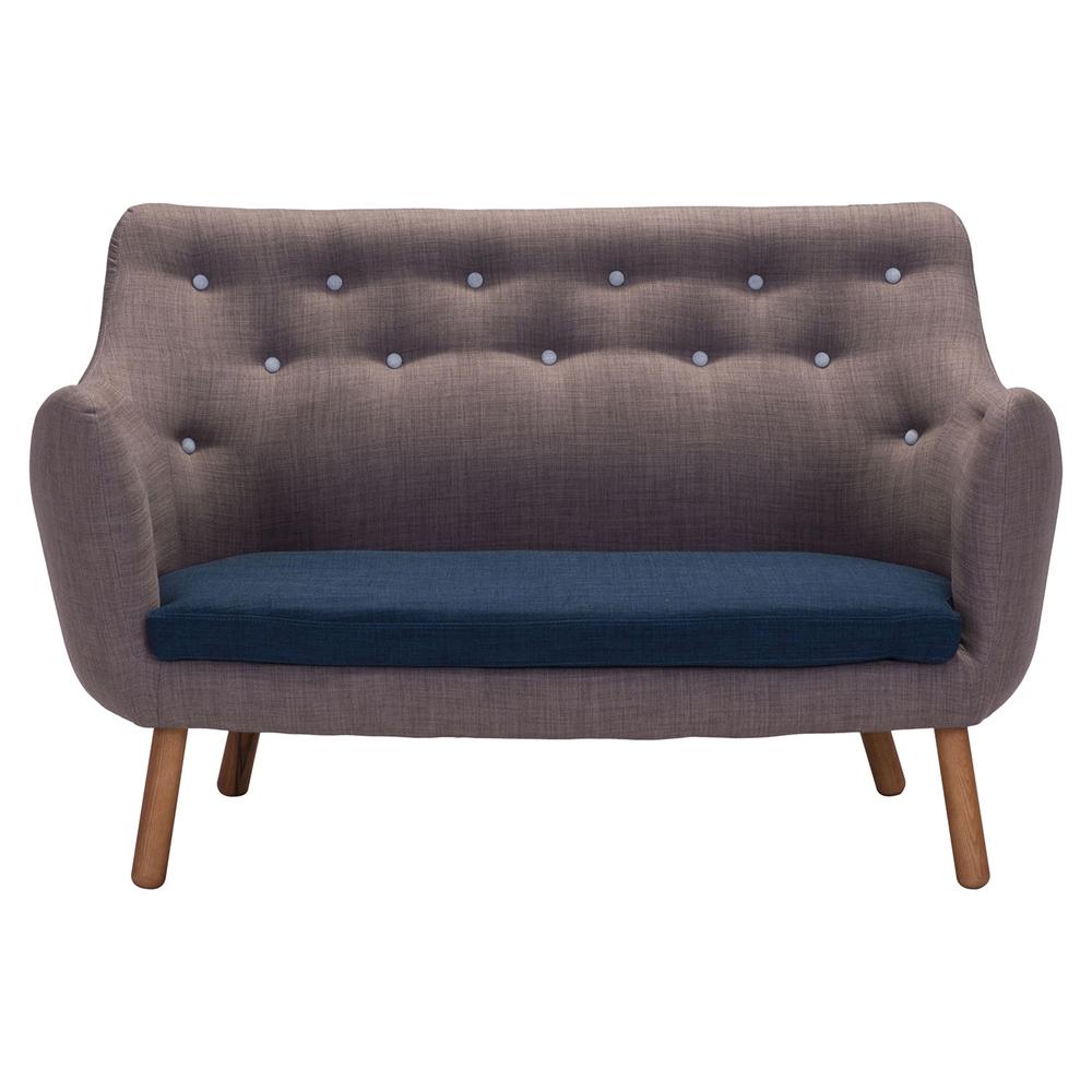 Liege sette gray sofa dcg stores for Sofa retailers