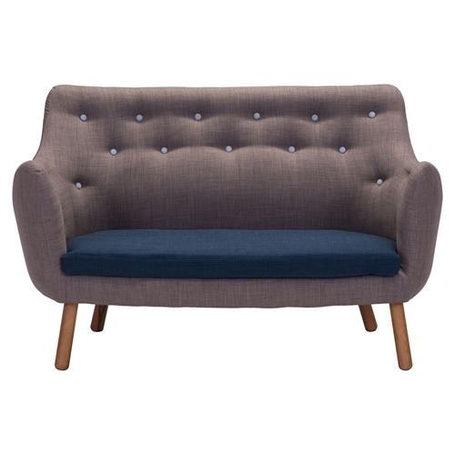 liege sette gray sofa dcg stores. Black Bedroom Furniture Sets. Home Design Ideas