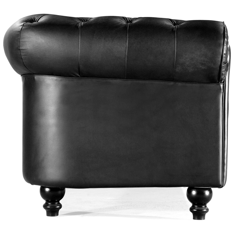 ... Aristocrat Classic Tufted Leather Armchair   ZM 90010X ...