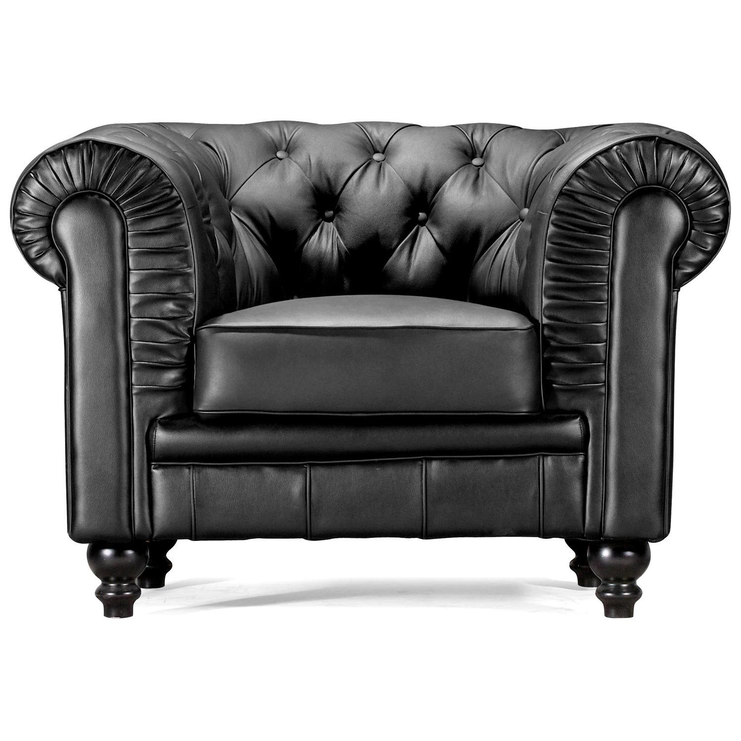 ... Aristocrat Classic Tufted Leather Armchair   ZM 90010X ...