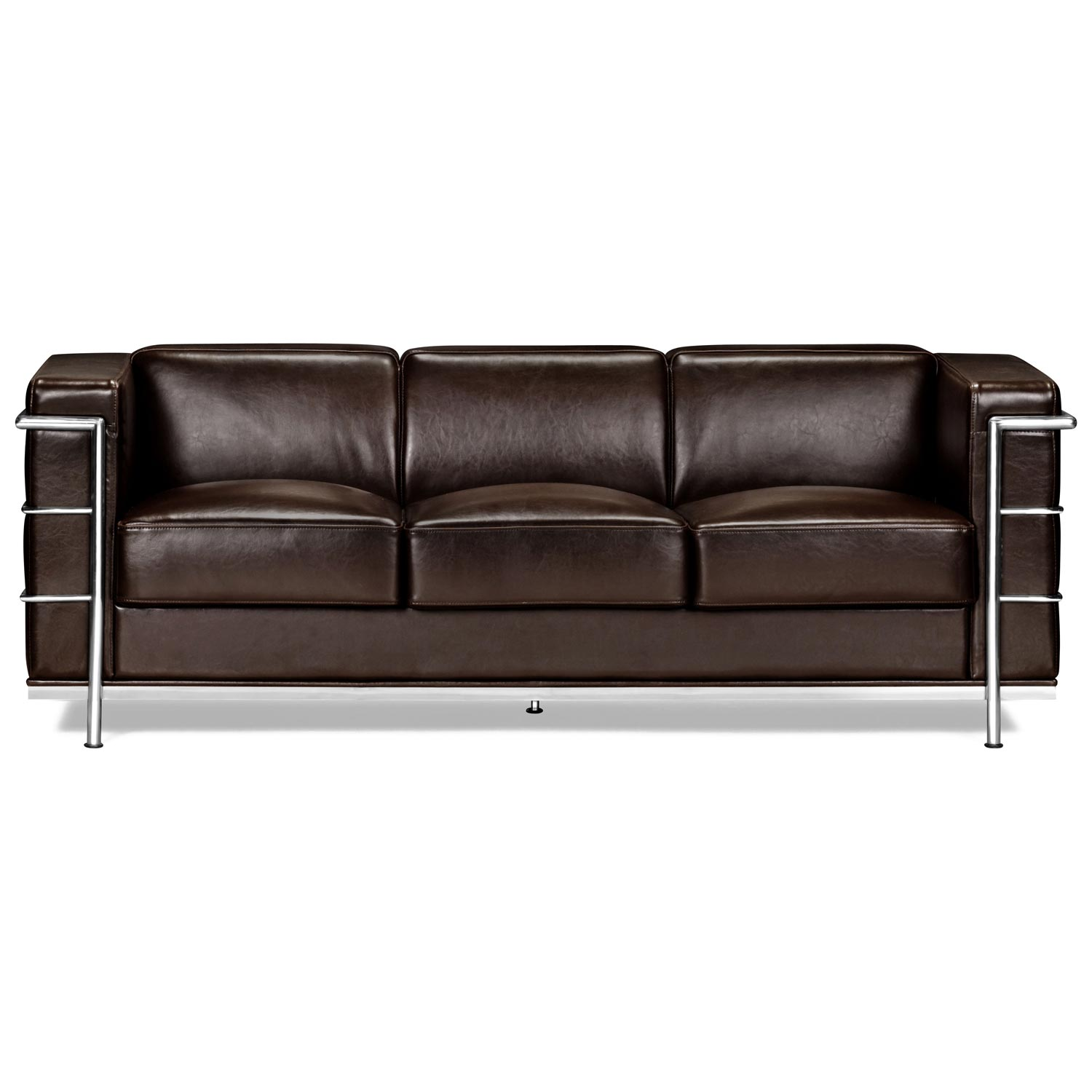 Fortress Leather Sofa Dcg Stores