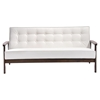 Aventura Sofa - Tufted, White - ZM-900640