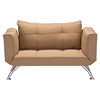 Tranquility Sleeper Settee - Wheat - ZM-900650