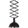 Emerald Adjustable Height Ceiling Lamp - Antique Black Metal - ZM-98231