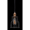 Aragonite Ceiling Lamp - Black, Copper - ZM-98255