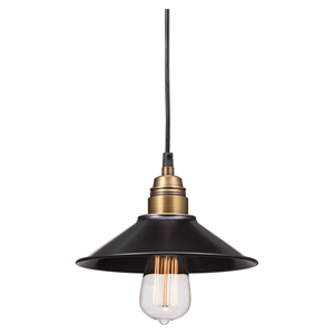 Amarillite Ceiling Lamp - Black, Copper