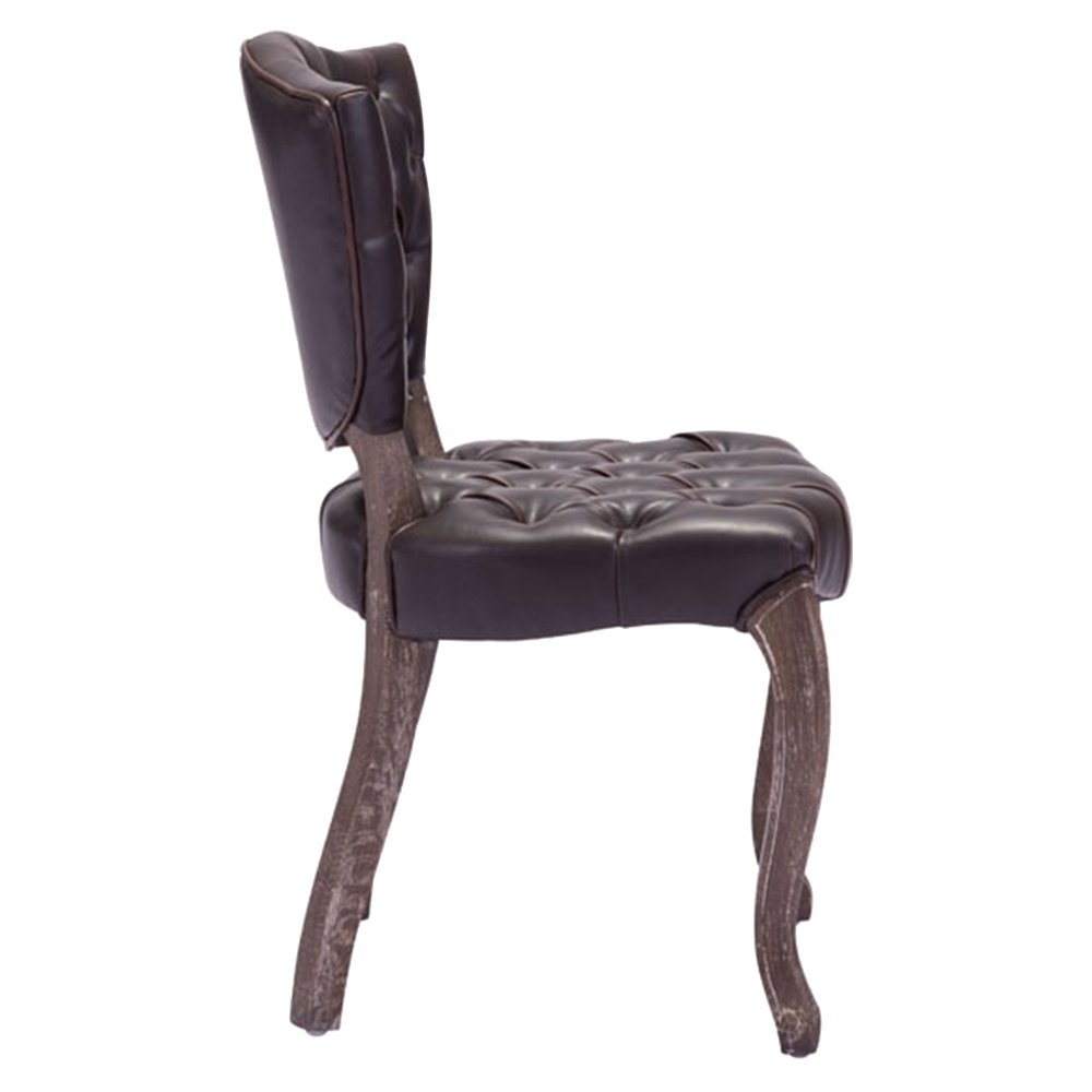 Leavenworth brown dining chair dcg stores for Bedroom furniture 98383