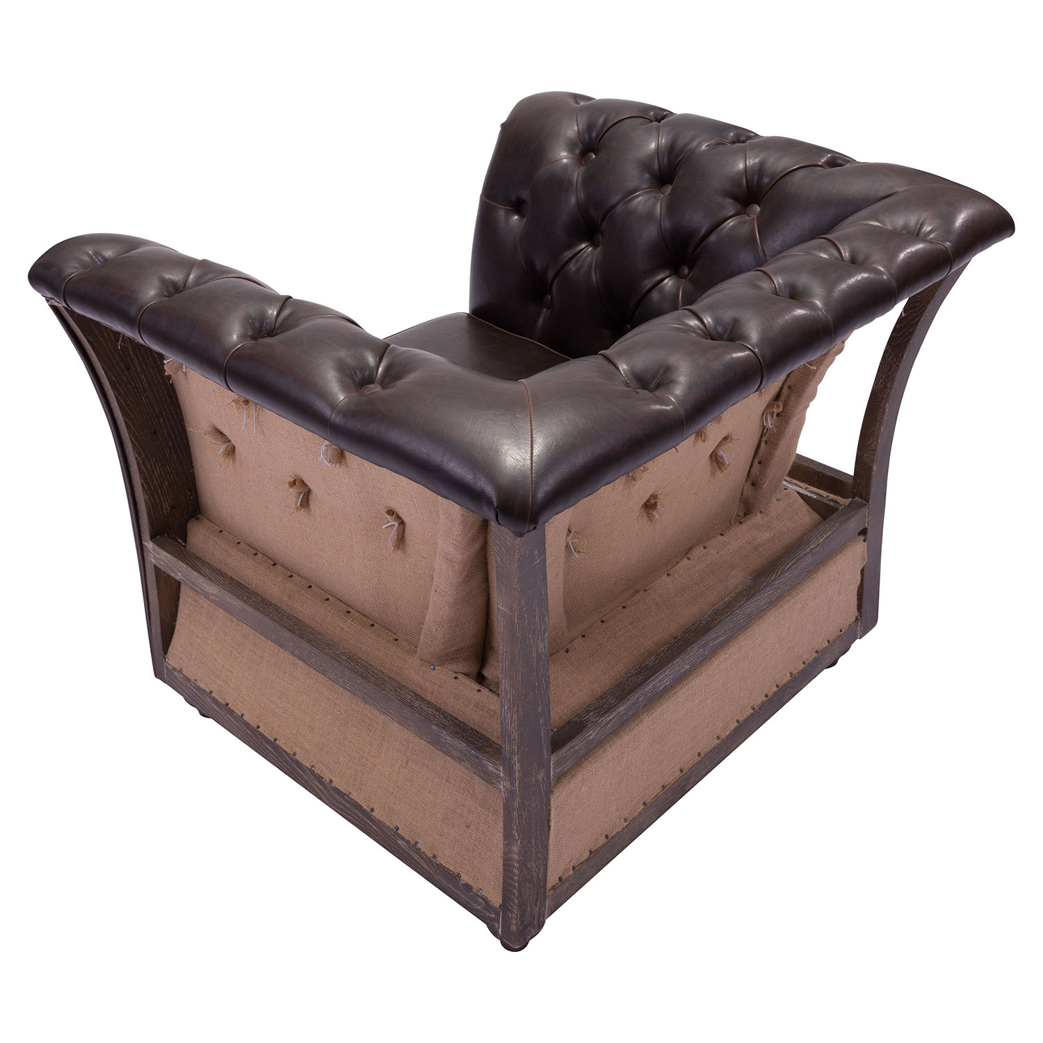 Rodeo Drive Arm Chair - Brown - ZM-98386