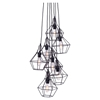 Palmerston Distressed Black Ceiling Lamp - ZM-98416