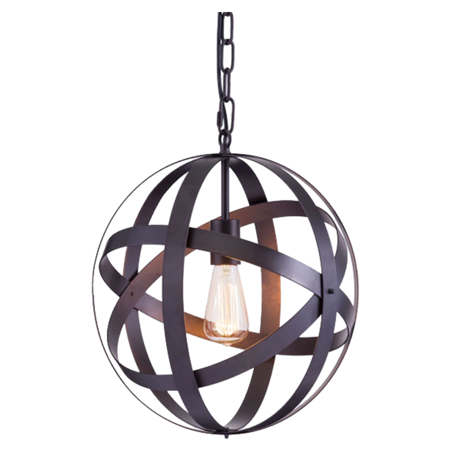 Plymouth Rust Ceiling Lamp - ZM-98418