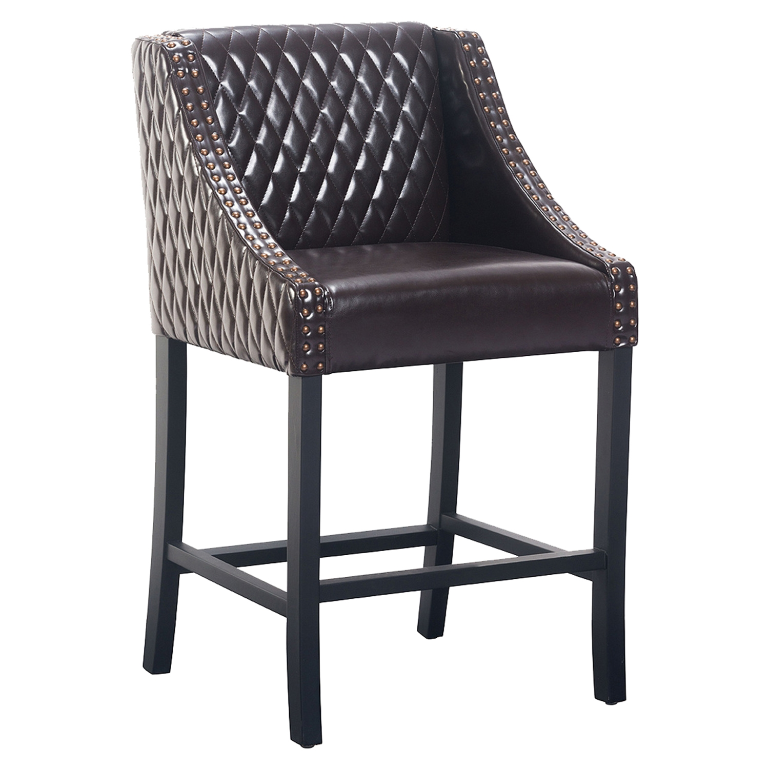 Santa Ana Counter Chair - Brown - ZM-98606