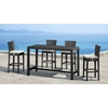 Anguilla Modern Patio Bar Chair - ZM-701142