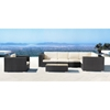 Cartagena Outdoor Coffee Table - Espresso - ZM-701001