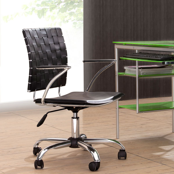 Criss Cross Woven Office Chair - ZM-20503X