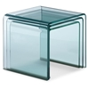 Explorer Glass Nesting Tables - ZM-404104