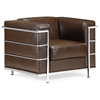 Fortress Leather Armchair - ZM-90022X-FORTARM