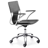 Trafico Modern Black Office Chair - ZM-205181