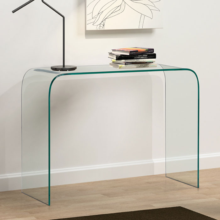 Mecca Glass Console Table - ZM-404128