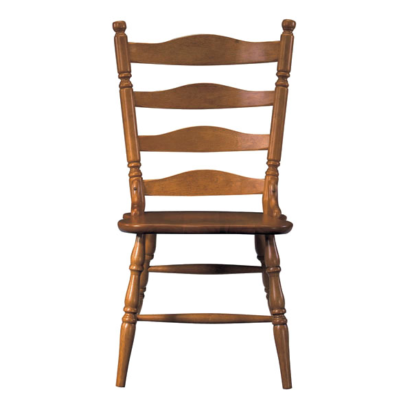 Ladderback Dining Chair in Soft Cherry