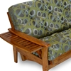 Eastridge Wood Futon Frame - Tray Arm, Heritage Finish - NF-ERDG