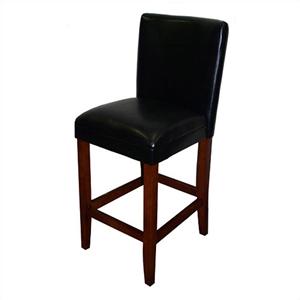 Deluxe Black Bar Stool