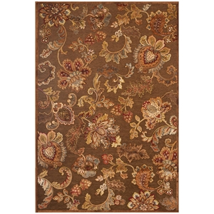 Napa Fulton Rug - Brown