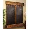 Cottonwood Falls Rajah Featherstone Wall Fountain - Square Trim Copper Frame
