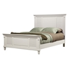 Winchester Shutter Panel Bed - White - ALP-1306-BED