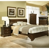 Chesapeake Sleigh Bedroom Set - Cappuccino - ALP-3200-BED-SET