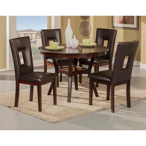 Segundo 5-Piece Dining Set - Espresso