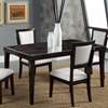 Midtown Glass Dining Table - Espresso - ALP-581-01