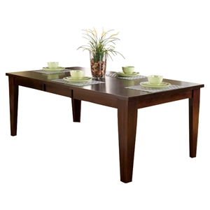 Havenhurst Extension Dining Table - Merlot, Butterfly Leaf