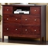 Costa Media Chest in Medium Cherry - ALP-CC-11