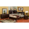 Solana 3-Piece Bedroom Set with Bookcase Headboard - ALP-SK-3PC-SET