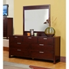 Camarillo Mirror with Merlot Finished Frame - ALP-TA-06