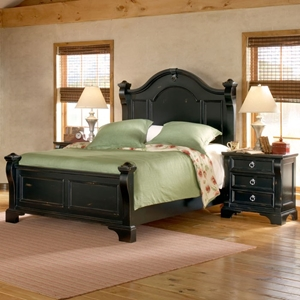 Heirloom 3 Piece Bedroom Set in Black
