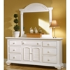 Cottage Traditions Triple Dresser in Eggshell White - AW-6510-272