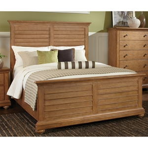 Pathways King Panel Bed in  Sandstone