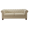 Winston Sofa Set - Beige Linen Fabric - AL-LC1060LINA-SET