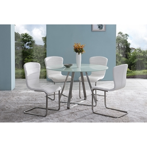 Cameo 5-Piece Modern Dining Set