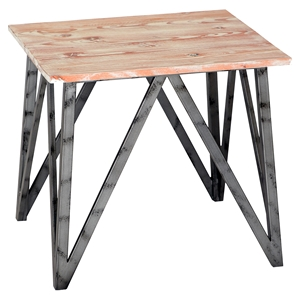 Regis End Table - Pine Top