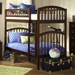 Richland Twin over Twin Bunk Bed - Ladder - ATL-AB6410