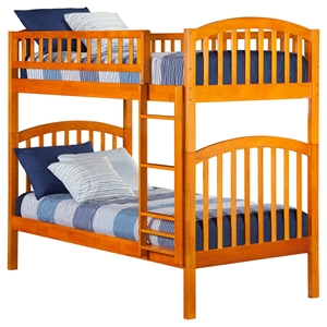 Richland Twin over Twin Bunk Bed - Ladder